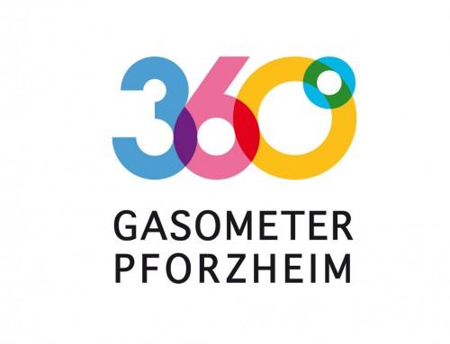 360° Gasometer Pforzheim / Marke