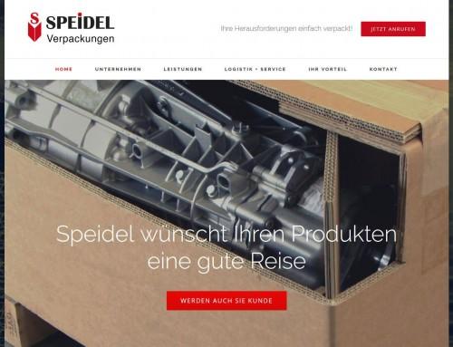 Website Speidel Verpackungen